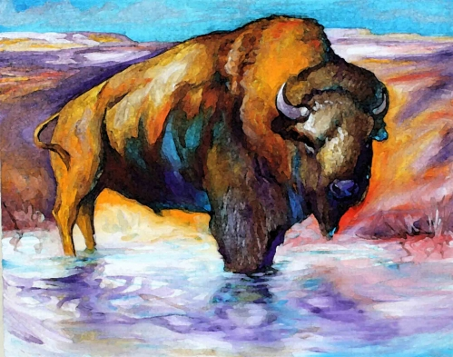 Buffalo Waters Fine Art