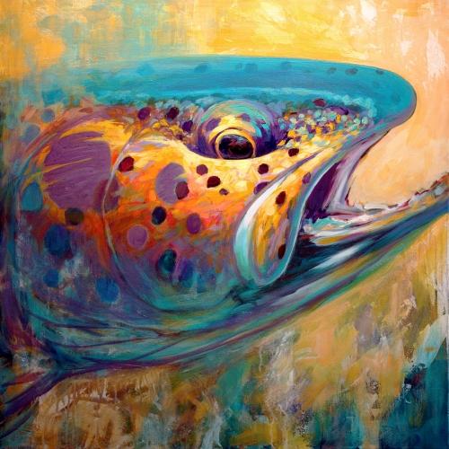 Water Hunter Fine Art