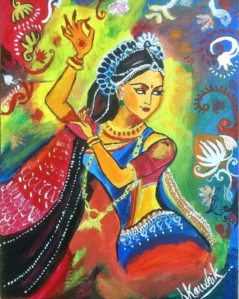 Amrapali Painting Fine Art