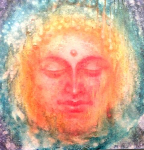 Buddha painting  Fine Art