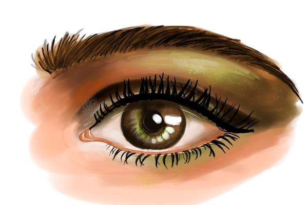 The Human Eye Digital Art