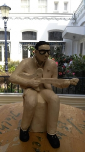 Cool man Sculpture