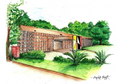 CCA Chandigarh Fine Art  by Archit Singh