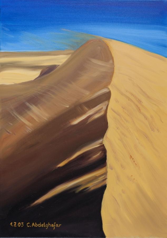 Dune of sand Fine Art