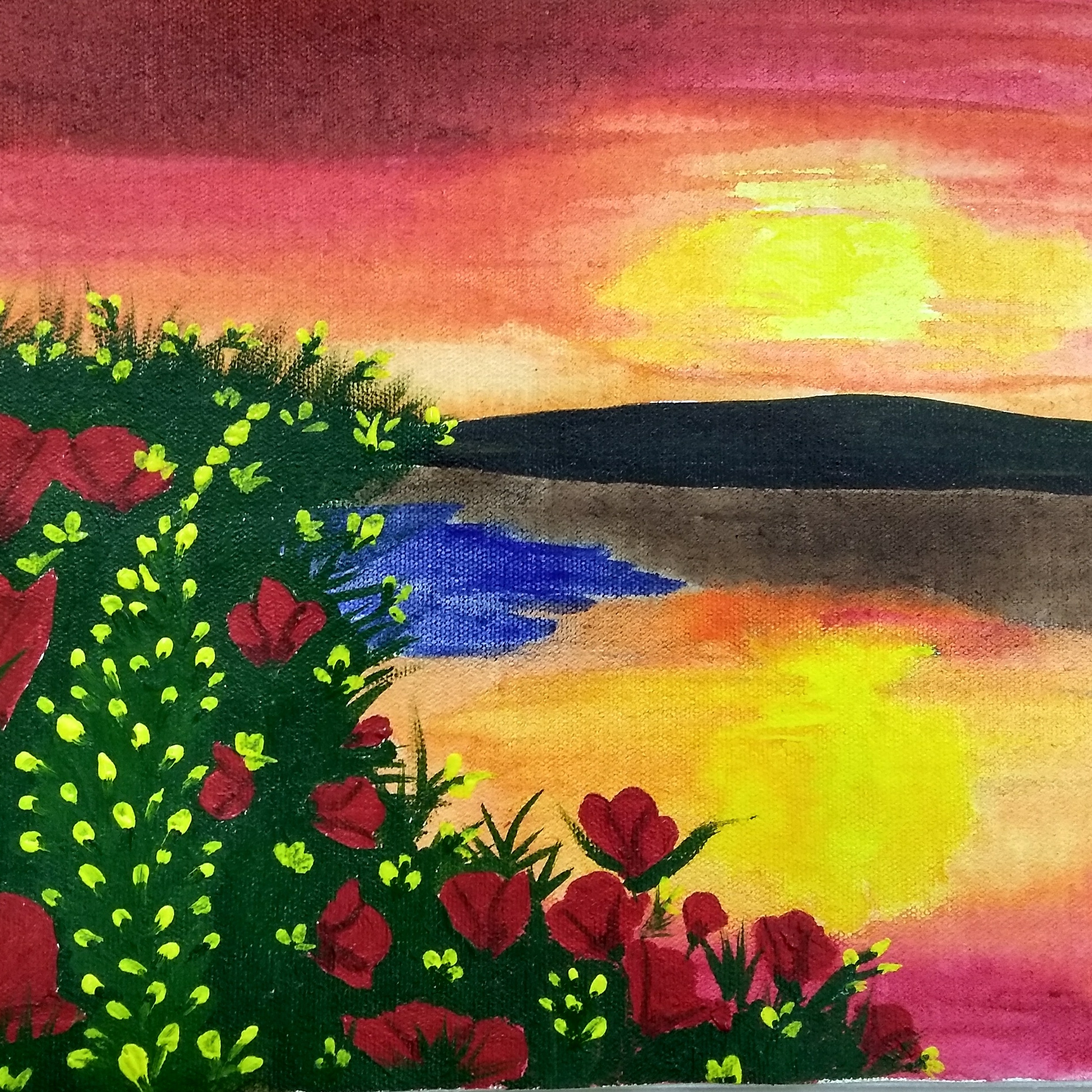 Evening Scenery Fine Art by Preet Dedhia