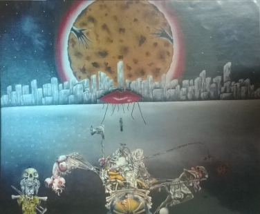 Abdonick of epose drama Fine Art by J J Banerjee