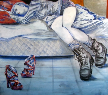 New Shoes Fine Art by Lina Golan