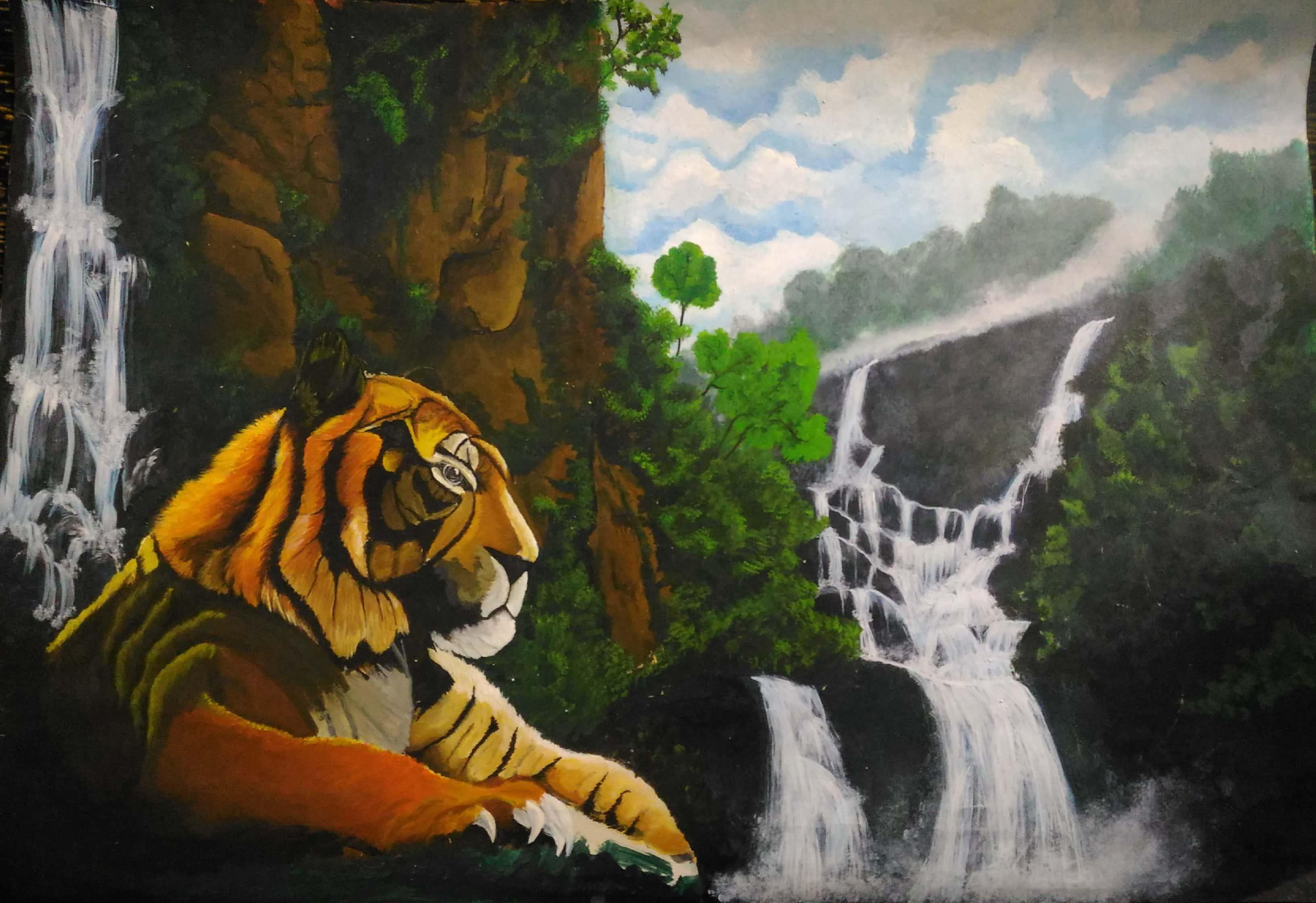 Tiger Paradise Fine Art