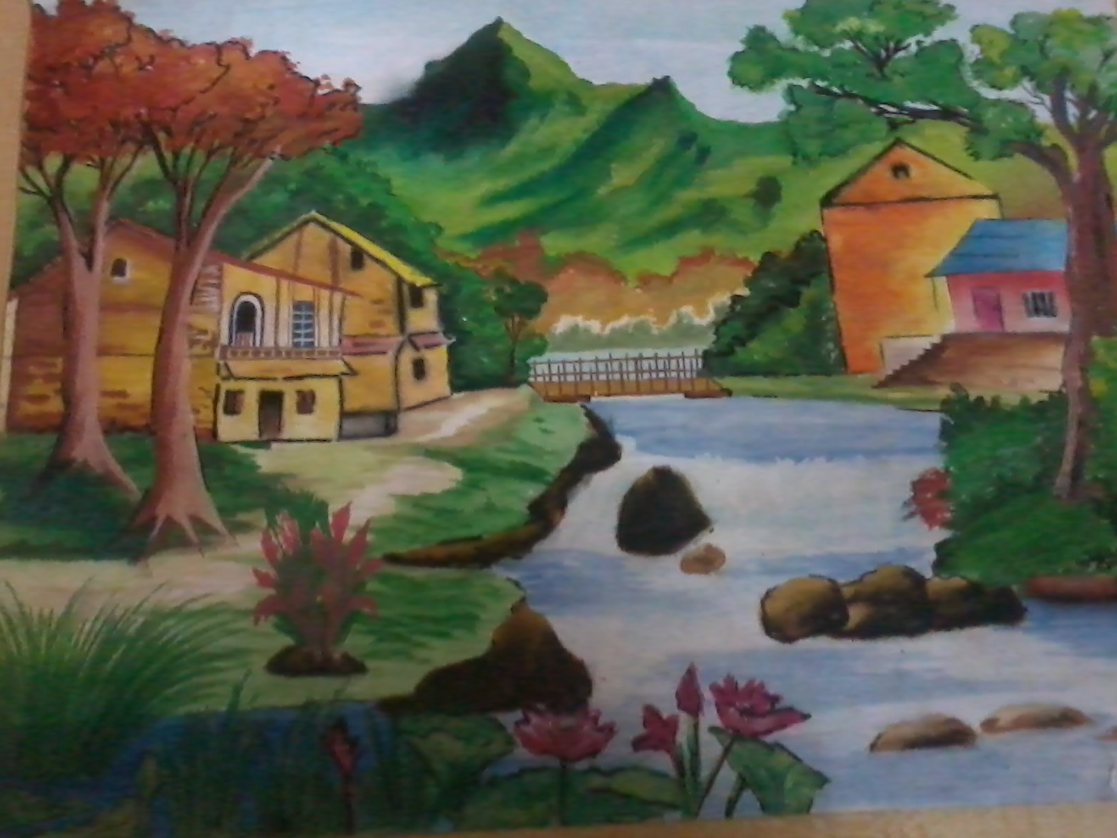 Landscape Painting Fine Art