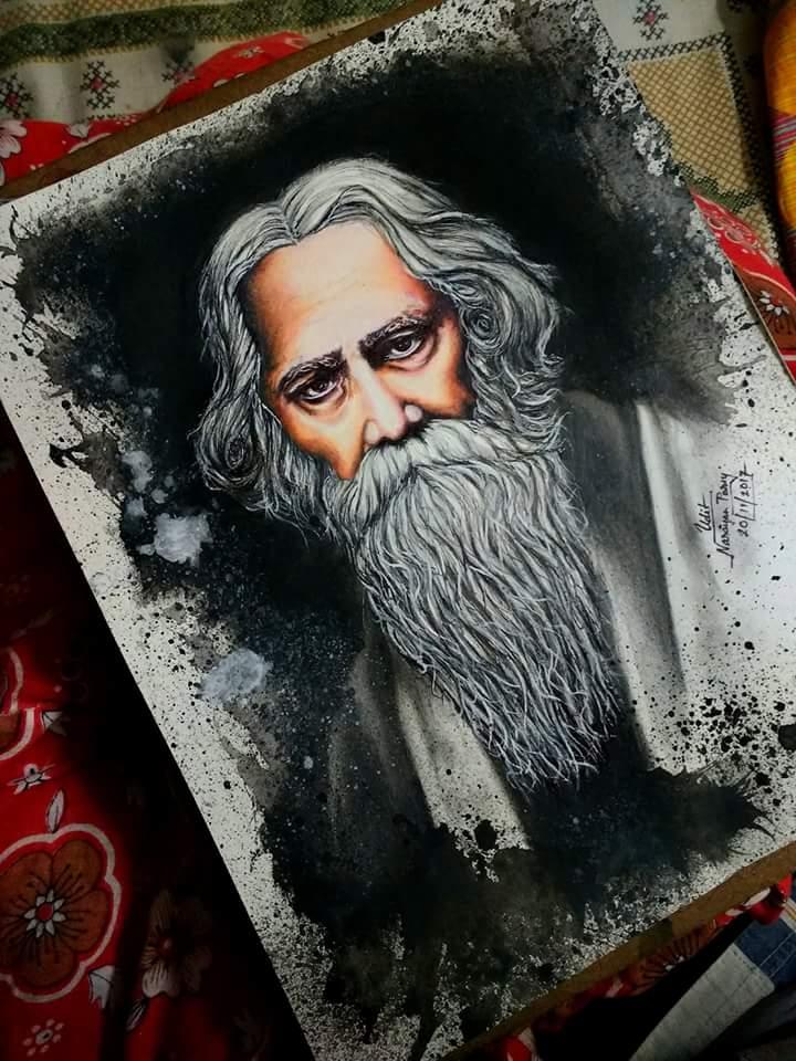 Rabindranath Tagore Fine Art