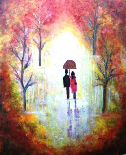 Autumn Romance Fine Art