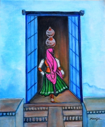 Rajasthani Beauty Fine Art
