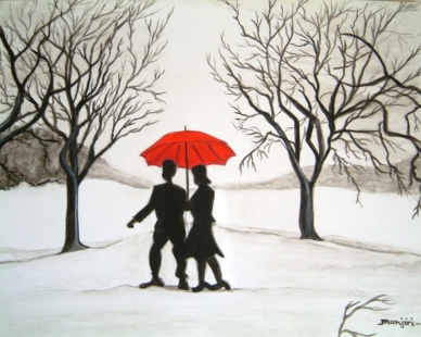 Winter Romance Fine Art