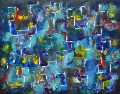 Abstract painting Journey Fine Art