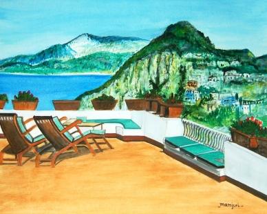 Italian Landscape Serene Fine Art