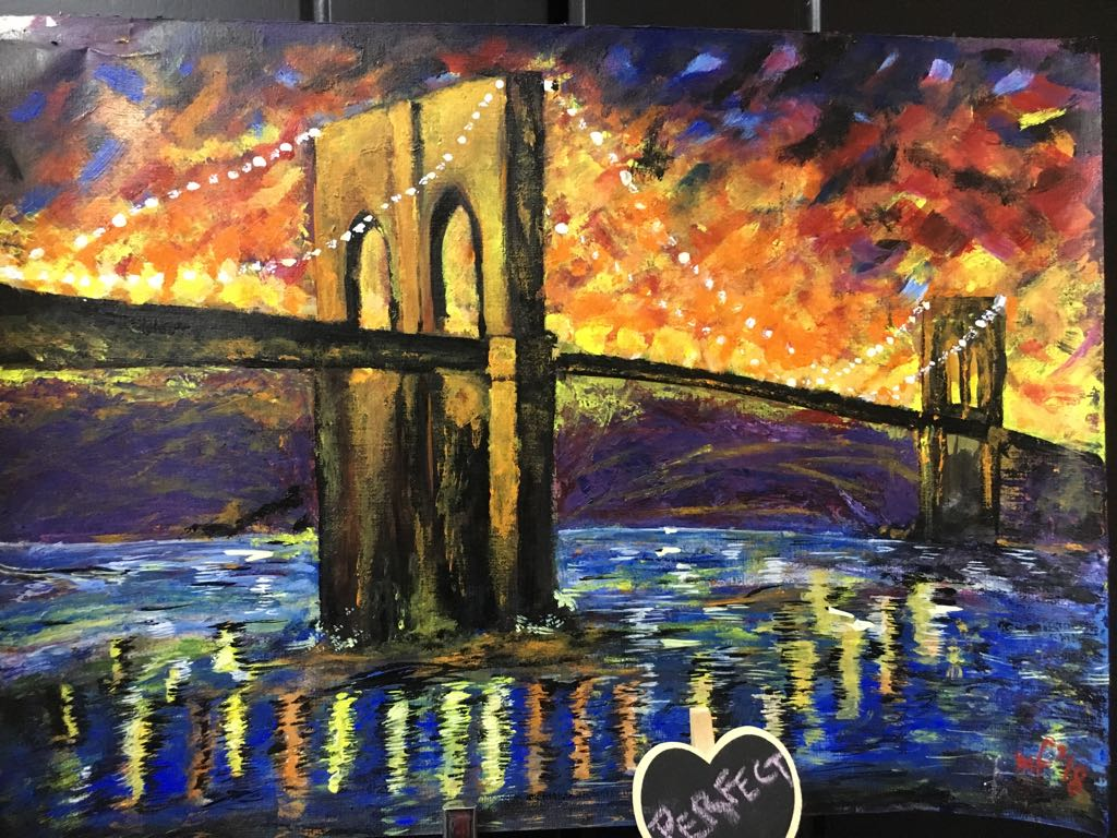 Acrylics Fine art