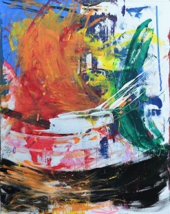 Abstract Acrylic Fine Art