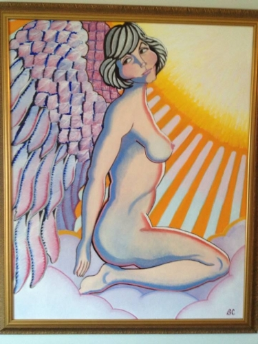 Angel Painting Fine Art