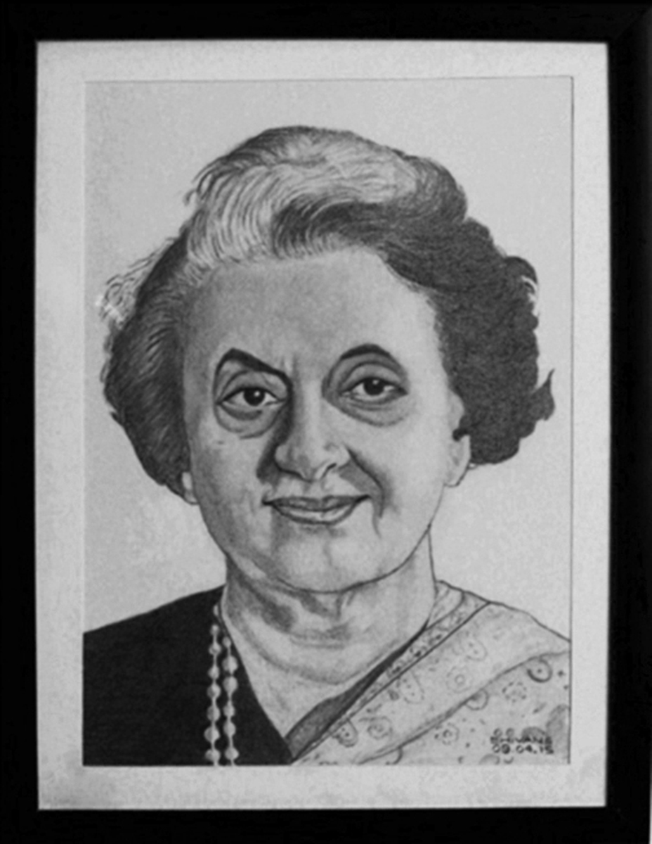 EX-PRIME MINISTER OF INDIA INDIRA GANDHI Fine art