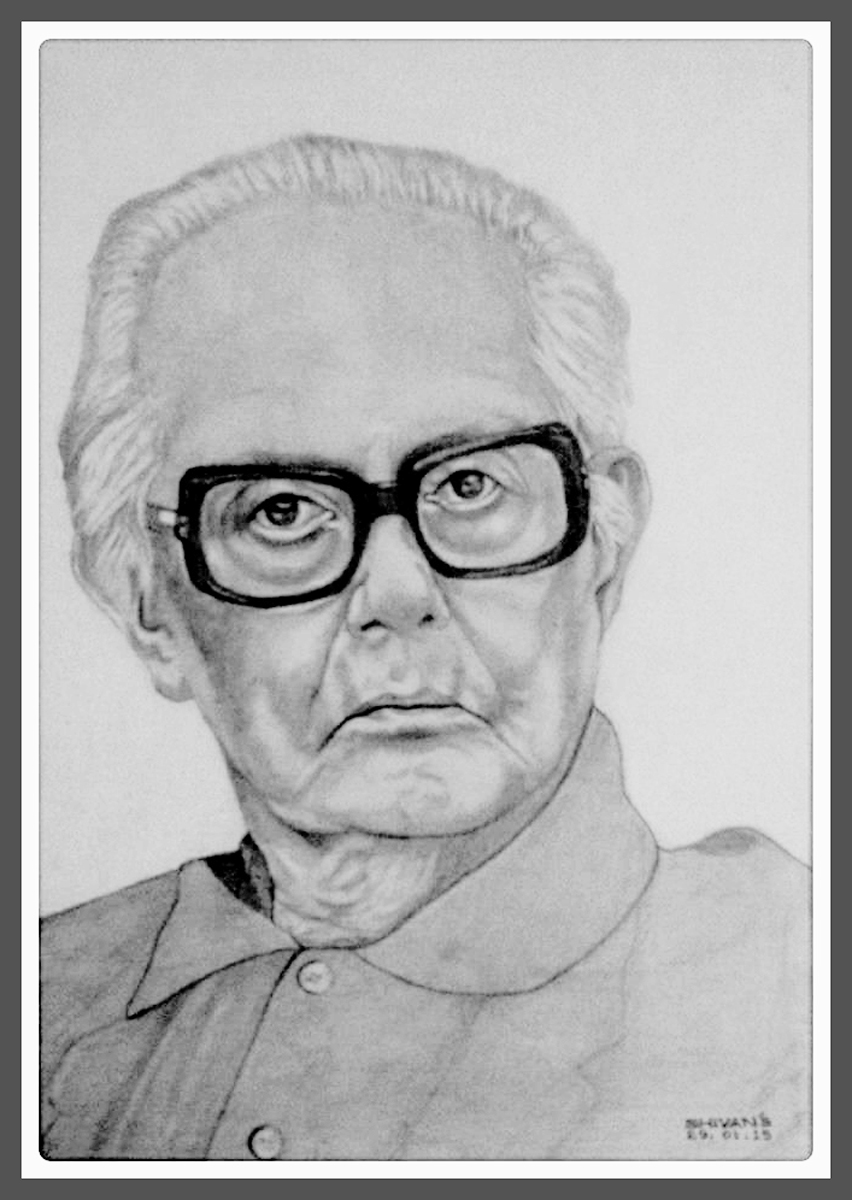 INDIAN CARTOONIST R.K. LAXMAN   Fine Art