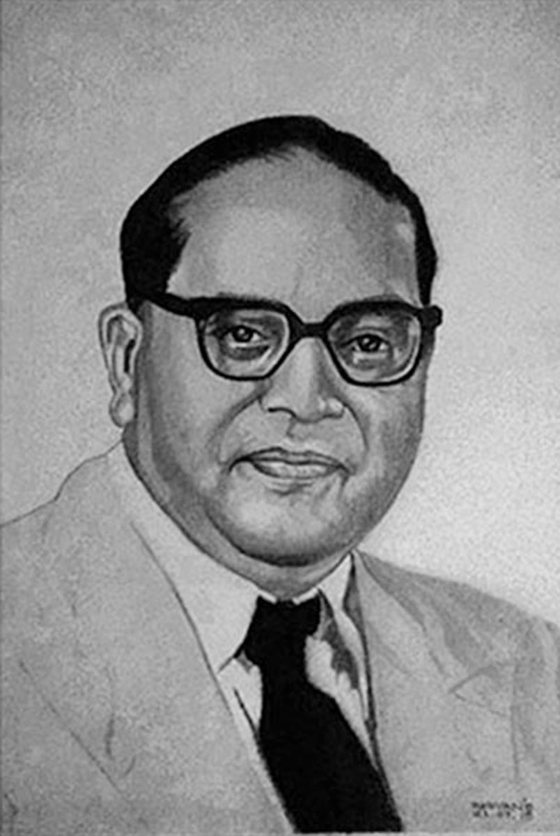 INDIAN POLITICIAN AND SOCIAL REFORMER DR. B.R. AMBEDKAR Fine Art
