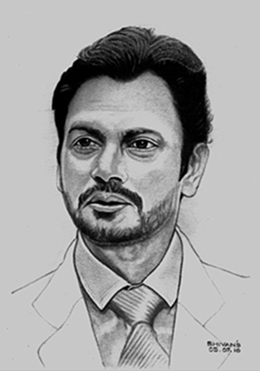 BOLLYWOOD ACTOR NAWAZUDDIN SIDDIQUI  Fine Art