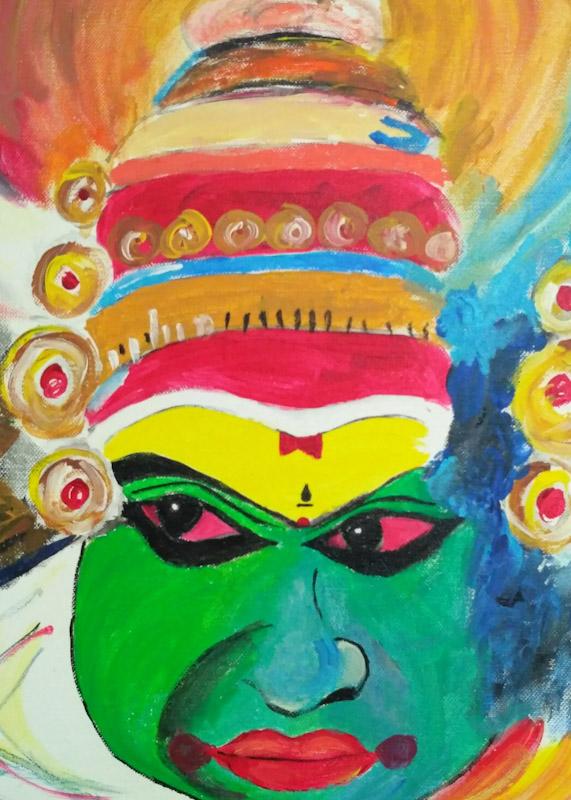 Kathakali Fine Art