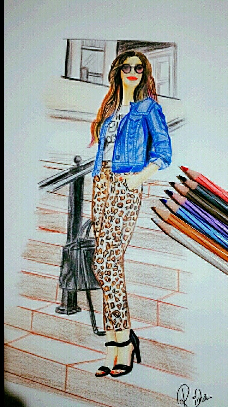 Fashion Sketch Fine art
