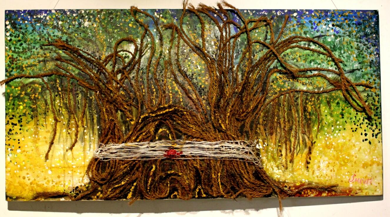 The Banyan Tree Painting Fine Art