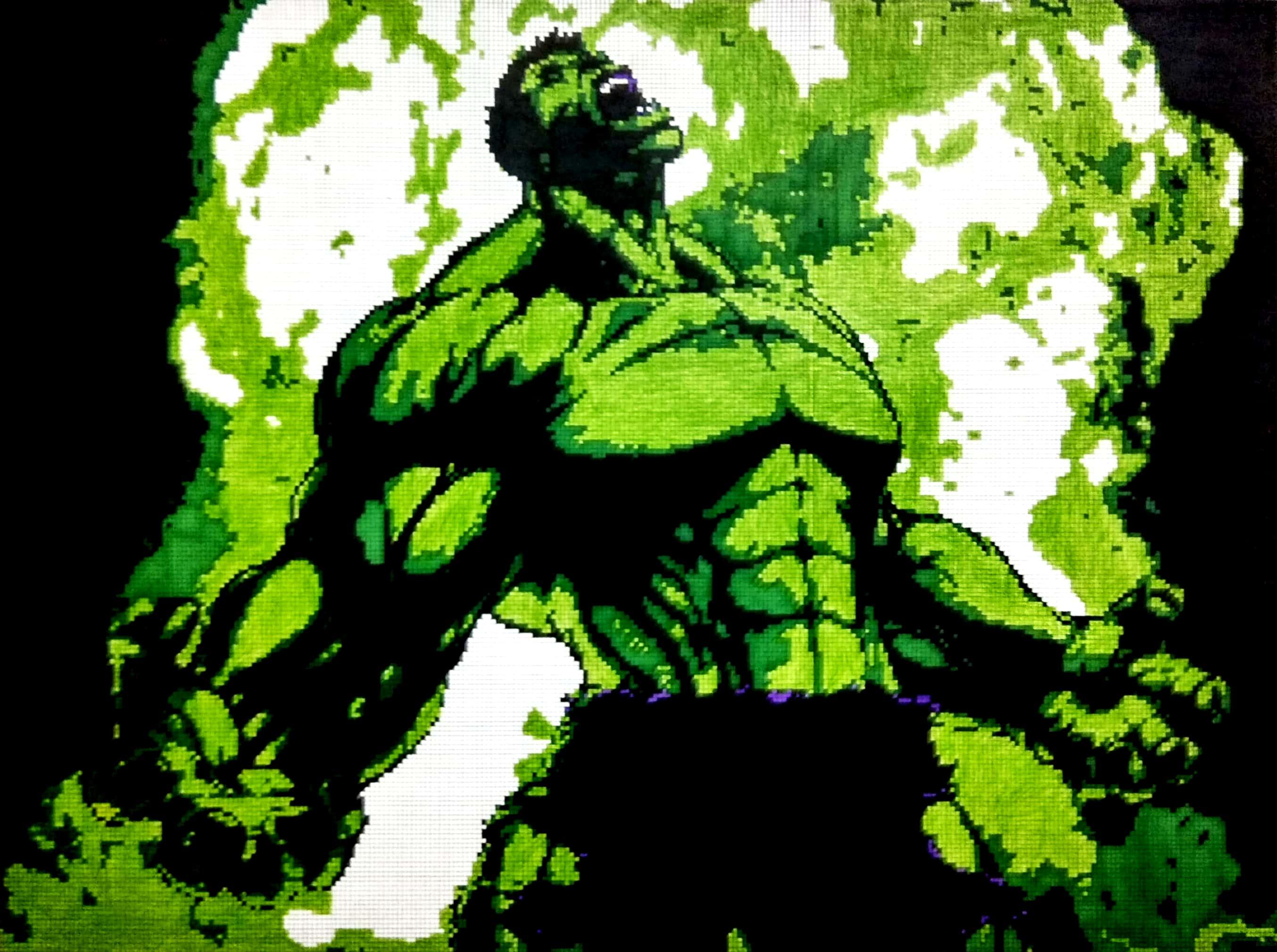 Hulk Fine art