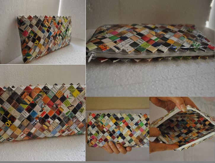 Magazine Clutch Sculptures