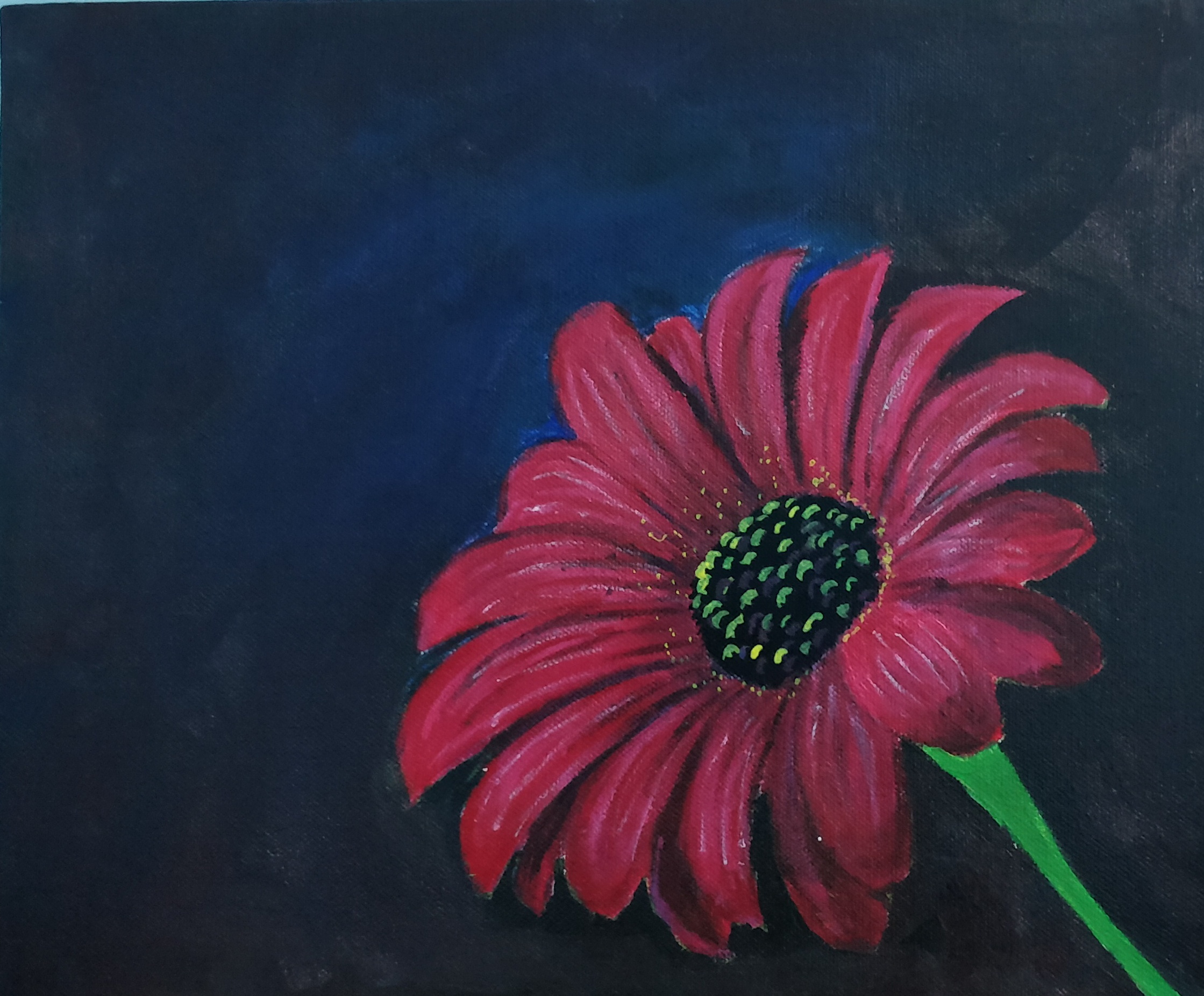Love For Flowers Painting Fine Art