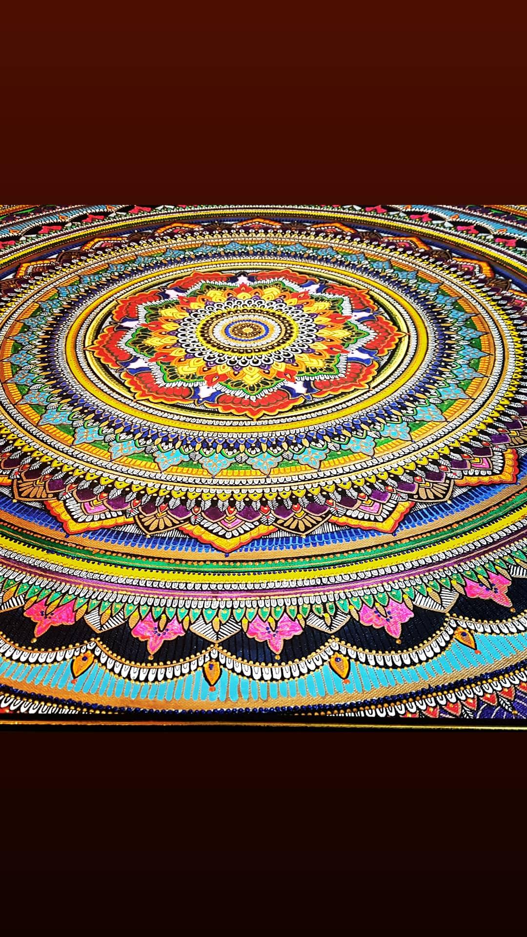 Rainbow Mandla Fine Art