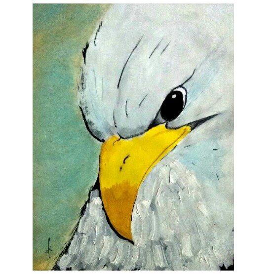 Mighty Eagle Fine art