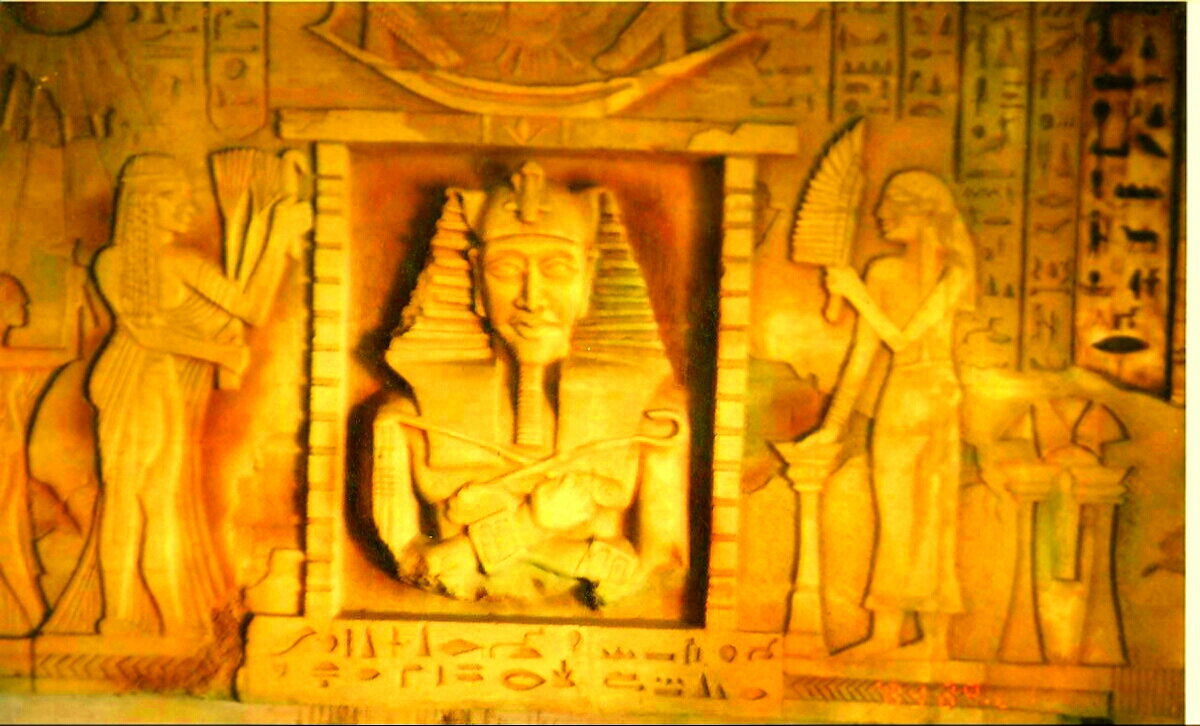 Egyptian Mural sculpture