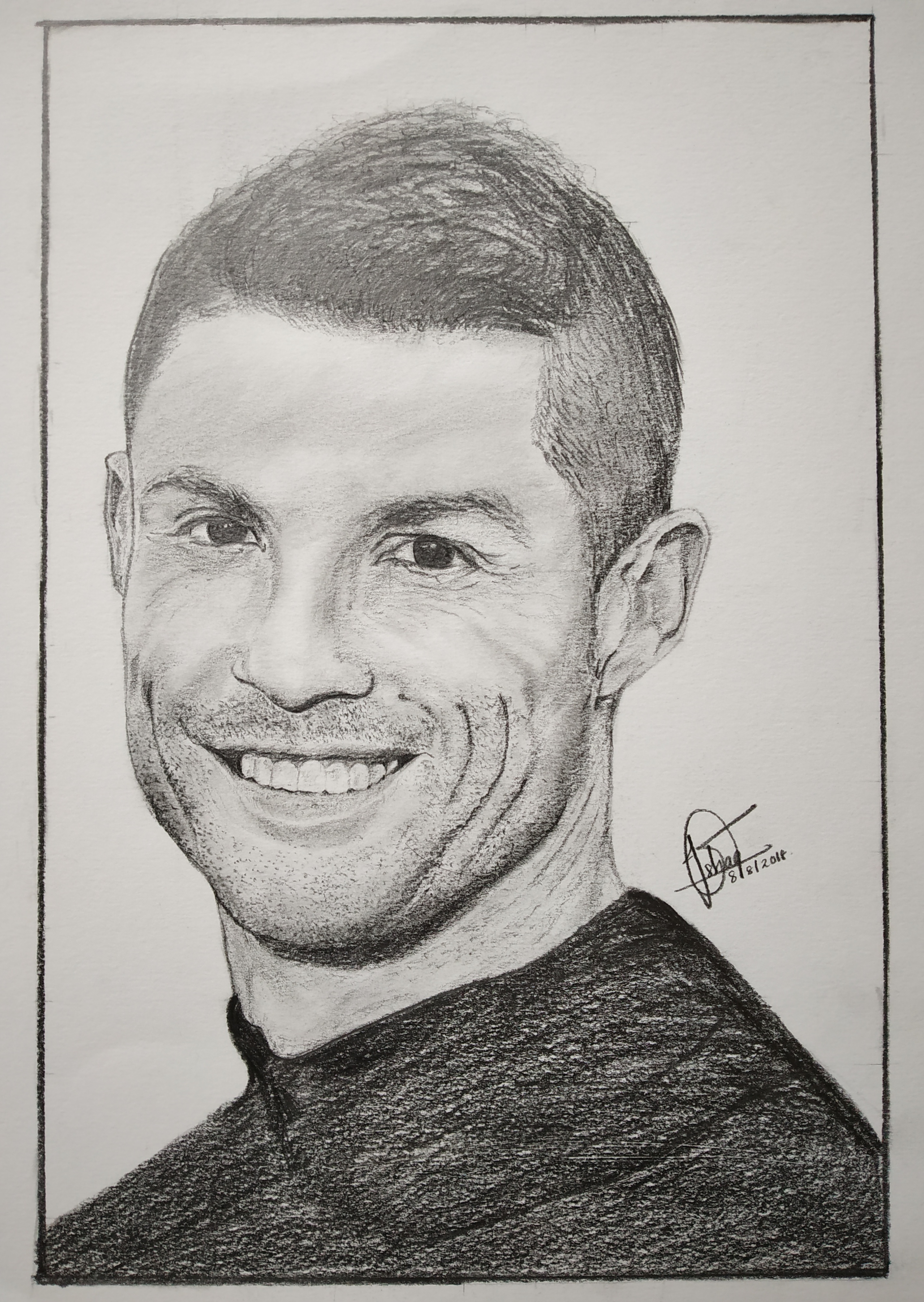 Cristiano Ronaldo Drawing Images