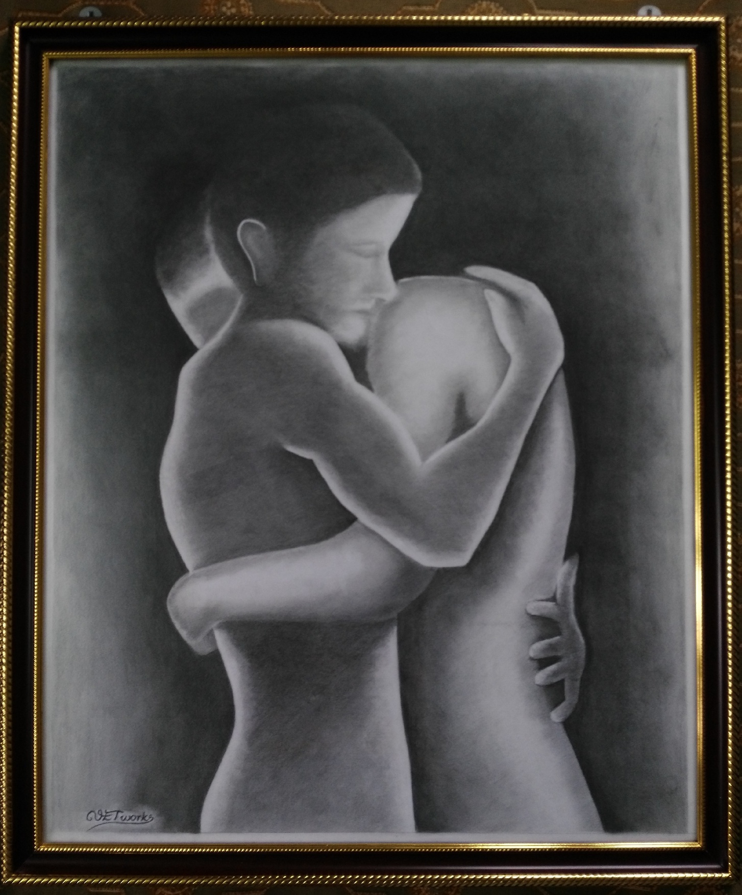 Purpose Networks Charcoal Fine Art