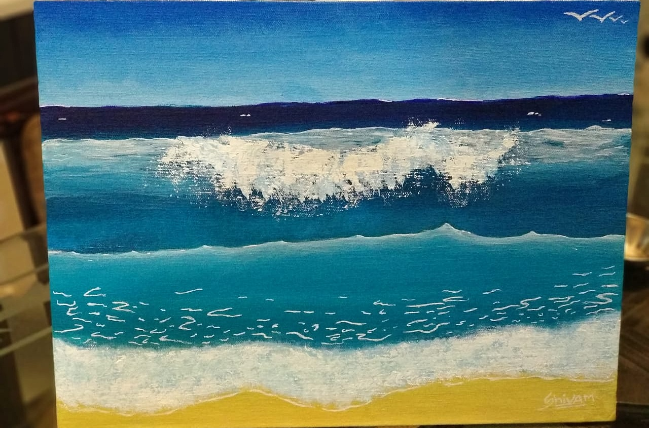 Beach Waves Fine Art