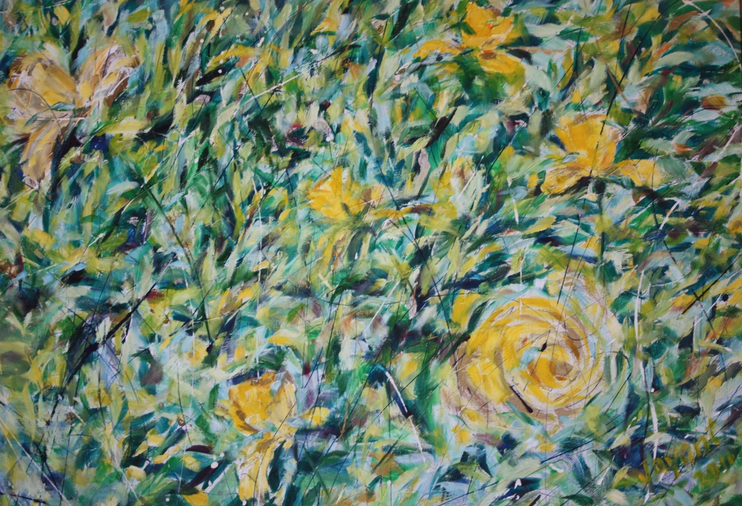 Yellow Roses Fine Art