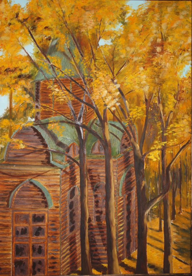 Wooden Church  Fine Art