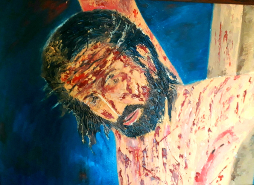 Jesus Fine art by Advait JK