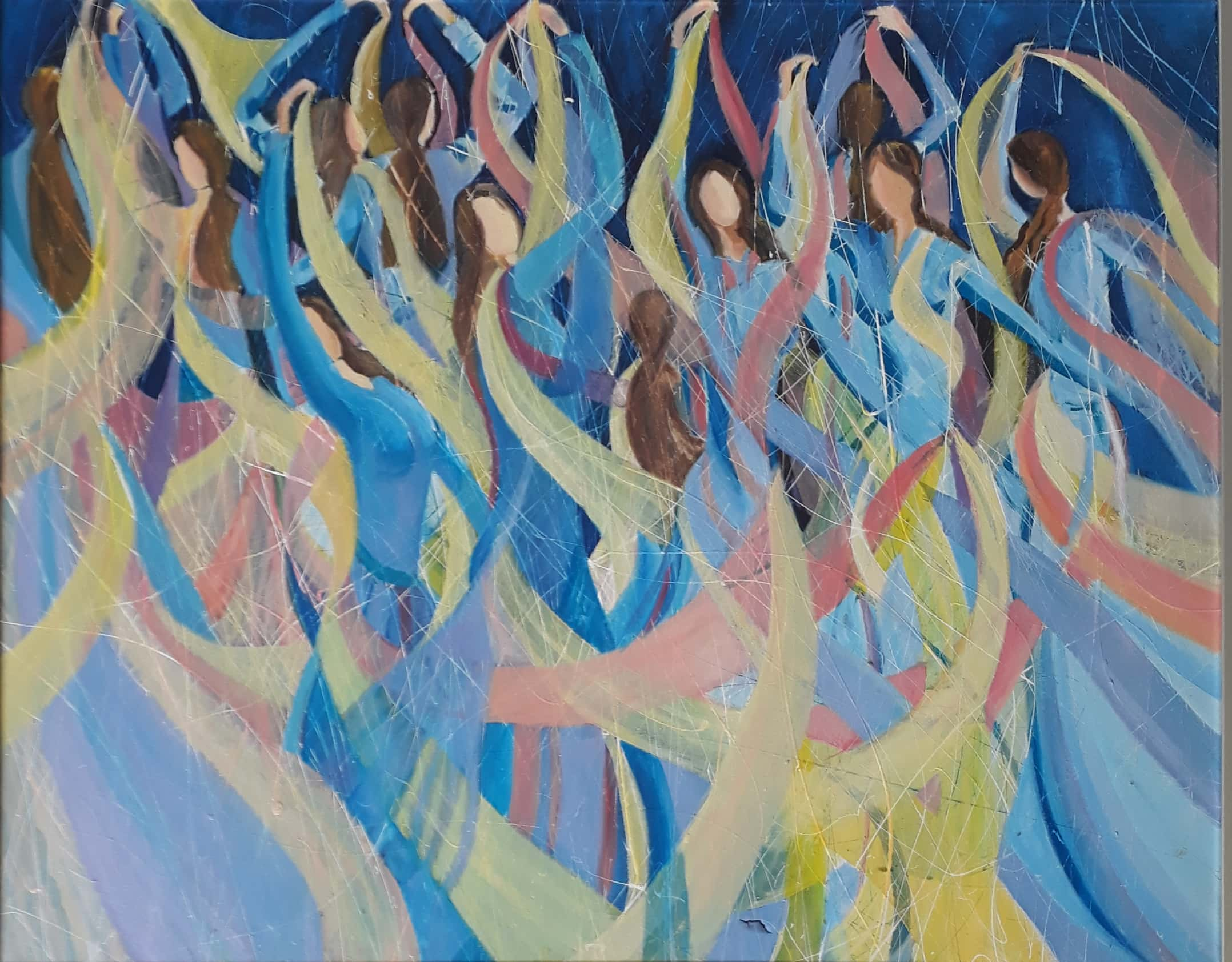Dancing Girls Fine Art