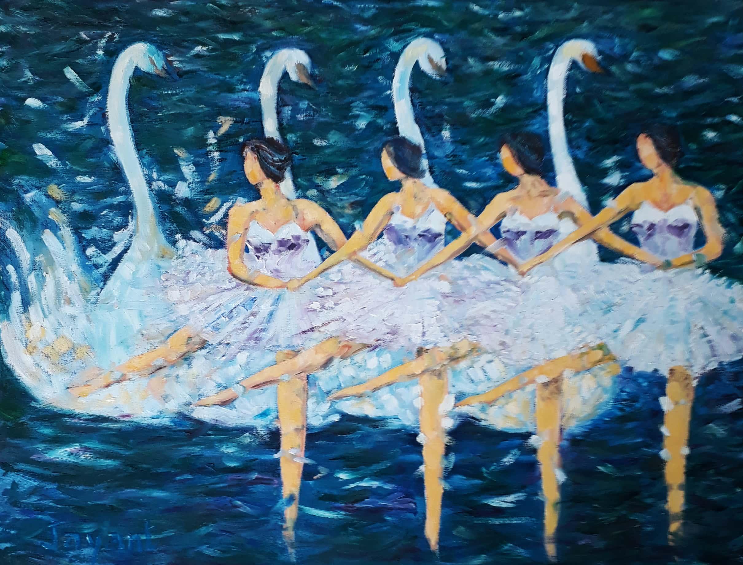 Swan Lake Fine Art