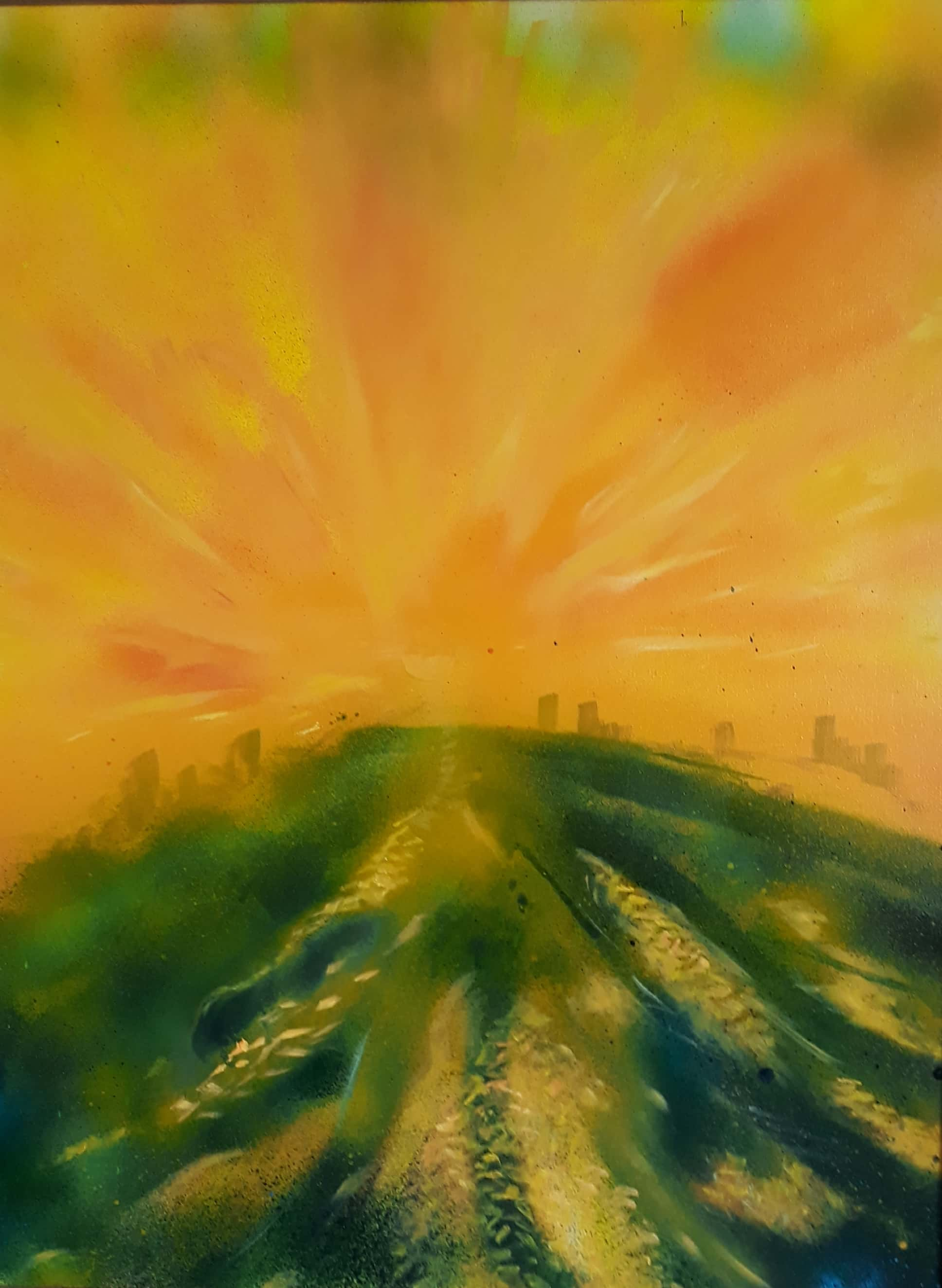 Golden Suns Fine Art