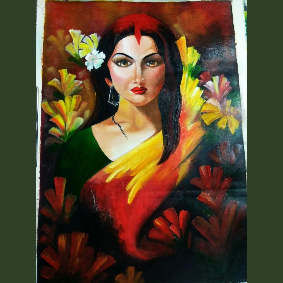 A Woman Fine Art