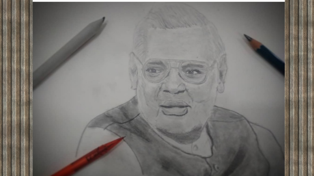Formal Indian President Atal Bihari Vajpayee Fine Art