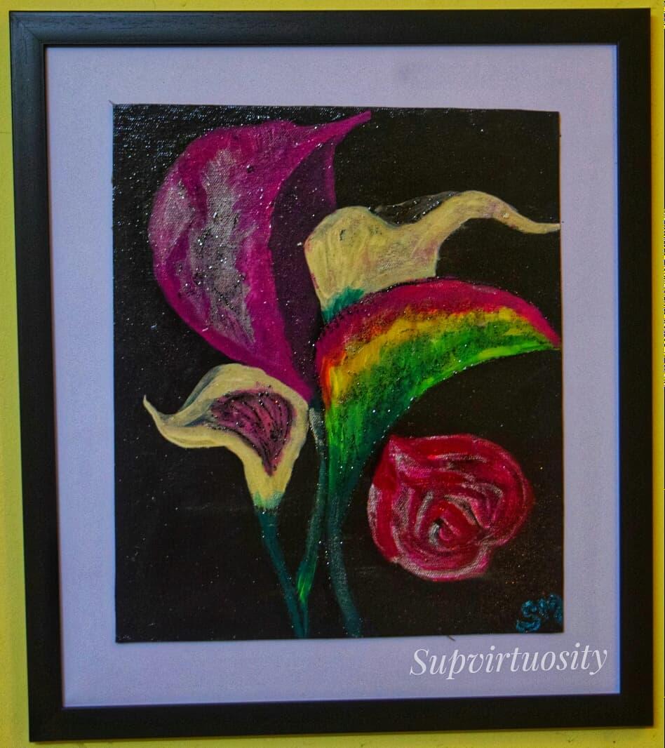 Flower Theme Fine Art