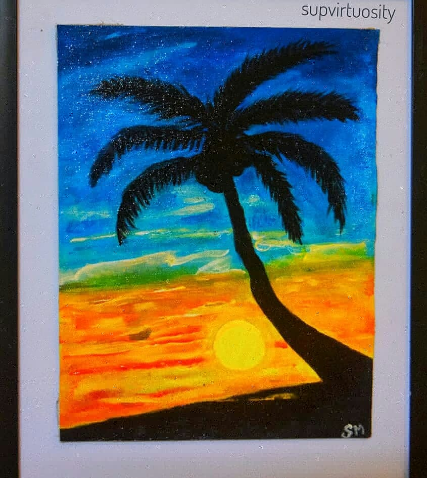Sunset Theme Fine Art