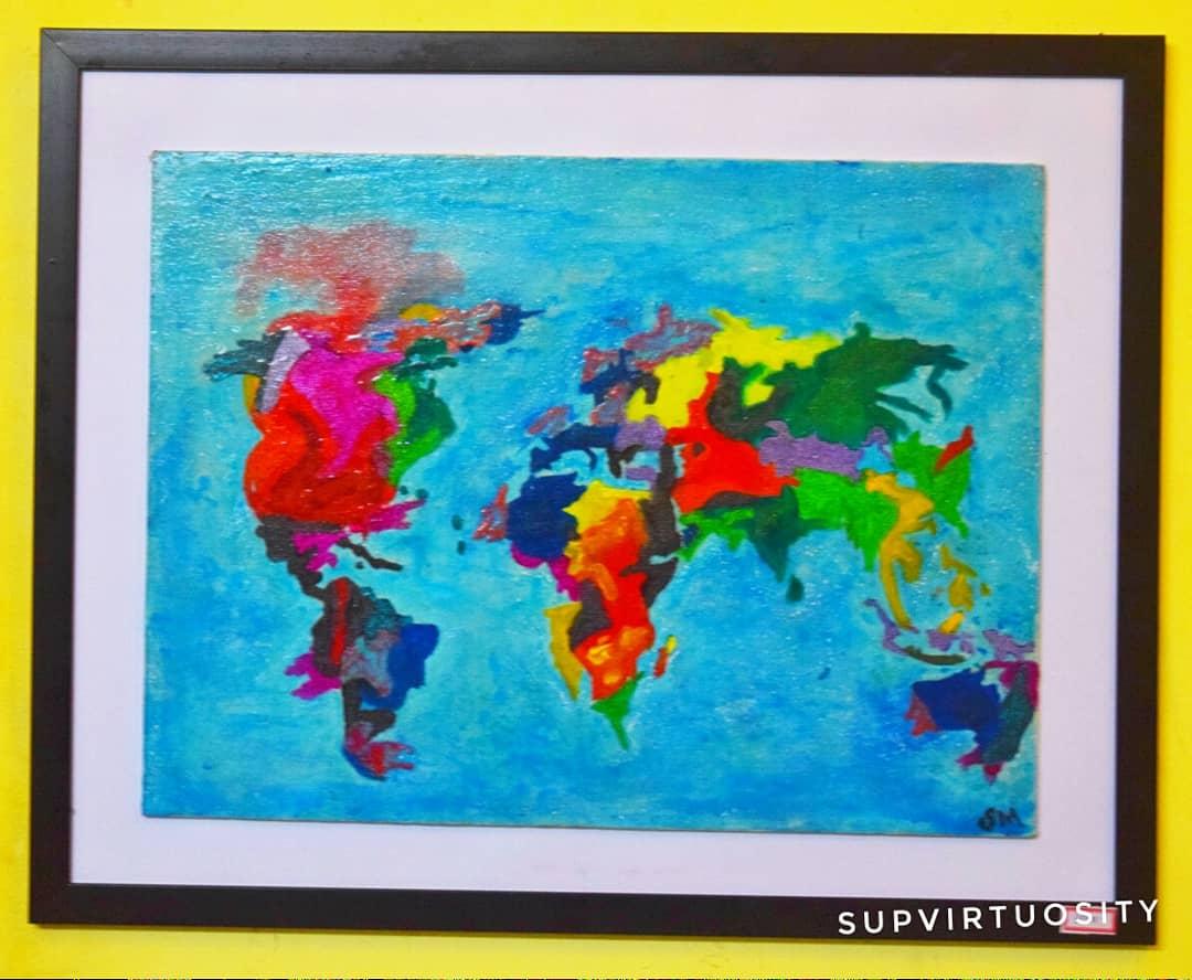Conquer the World Fine Art