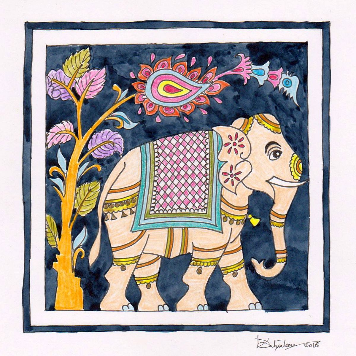 Airavat - The Elephant Of Gods Fine Art